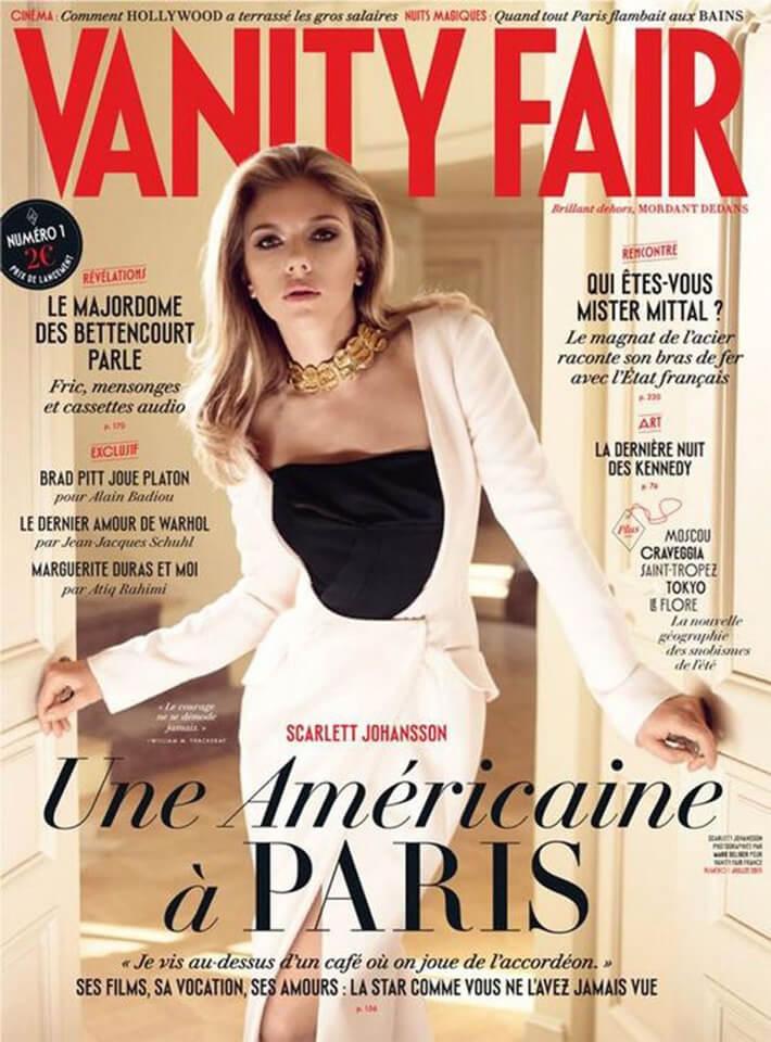 Magazine Vanity Fair n°1